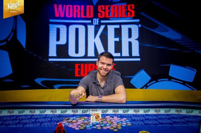 جک سینکلر قهرمان سری مسابقات جهانی پوکر اروپا