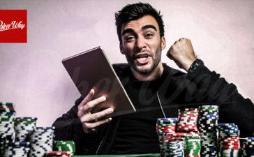 باختن در بازی پوکر