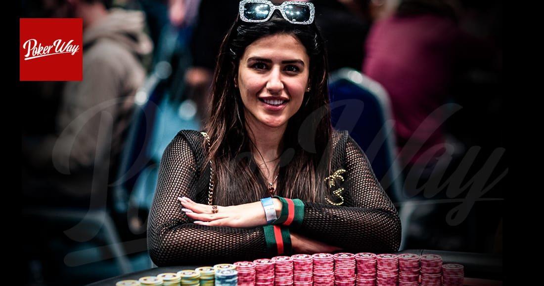 ملیکا رضوی پوکر باز ایرانی