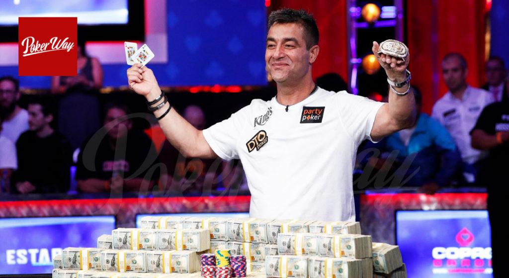 حسین انسان برنده تورنومنت پوکر WSOP 2019