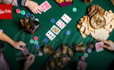 رژیم غذایی مناسب برای بازیکنان پوکر